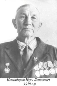 Искандаров Нури Денисович