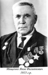 Мищенко Яков Филипович