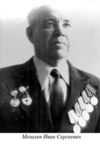 Мозалев Иван Сергеевич
