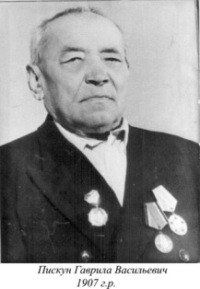 Пискун Гаврила Васильович