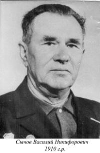 Сычов Василий Никифорович